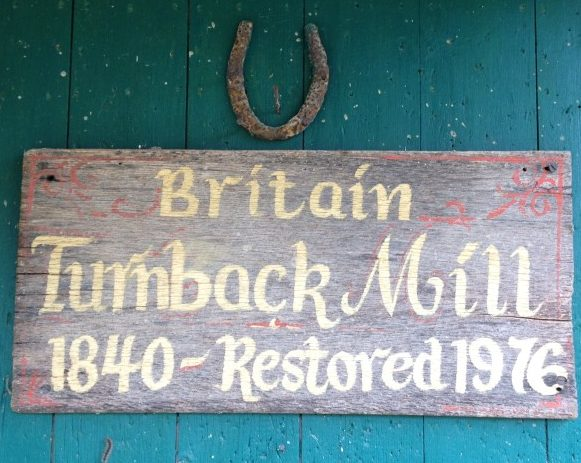 Britain Mill on Turnback Creek